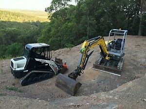 Bobcat ,Posi track, Skid steer , Excavator  Dry Hire Cootharaba Noosa Area Preview