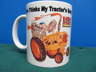 Minneapolis Moline She Thinks My Tractors Sexy Coffee Mug 1