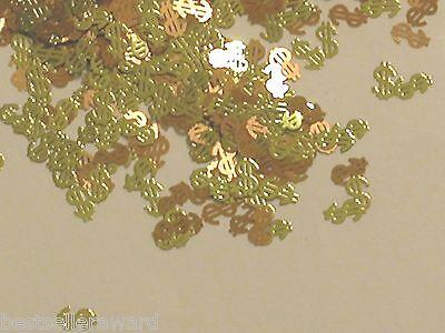 20pc Lot Tiny thin metal fairy dust glitter money Dollar $$ charm findings **