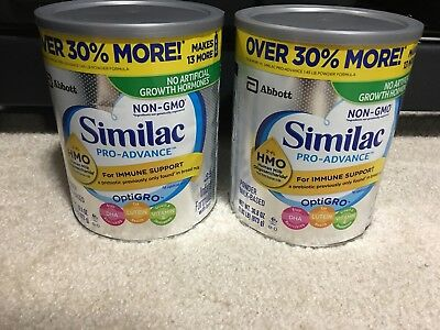 Similac Pro-Advance Infant Formula 30.8 oz New, Sealed,  Lot of 2, Exp. 03-2020