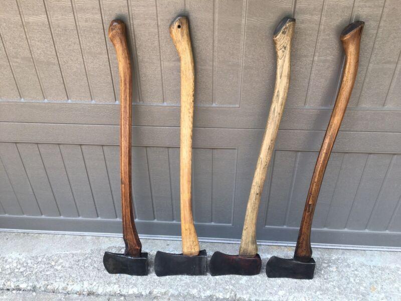 Lot of 4 Vintage Axes True Temper Plumb