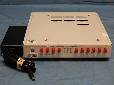 Hp Agilent N4860a Digrf V3 Digital Stimulus Probe W Power Adapter Tested