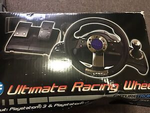 PLAYSTATION STEERING WHEEL Campbelltown Campbelltown Area Preview