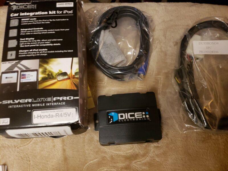 I-HONDA-R4/5V DICE AUDIO IPOD INTEGRATION ADAPTER KIT FOR HONDA VEHICLE CARS NEW