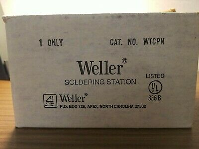 Weller Wtcpr Soldering Station Bx2 Works 1977-80s