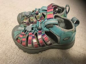 Mint Condition Girls Size 8 Keen Shoes