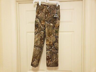 2a7524873acdf Guide Series Realtree Hardwoods Camo Waterproof Hunting Pants Youth Sz S NWT