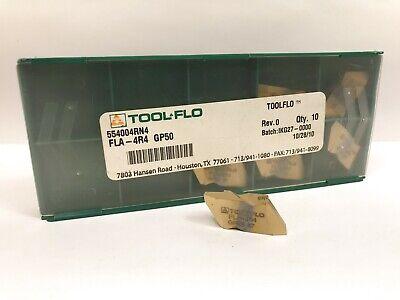 Tool-flo Fla-4r4 New Carbide Inserts Grade Gp50 6pcs