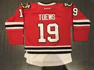 Reebok Jonathan Toews Chicago Blackhawks YOUTH Hockey Jersey