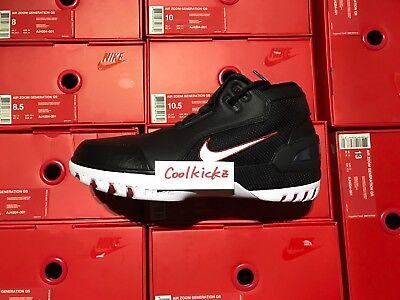 Ship Now Nike Air Zoom Generation King Rook 8 13 Black White Crimson Aj4204 001