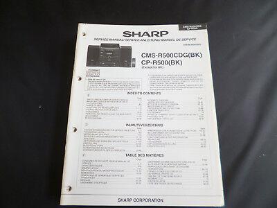 Original Service Manual Sharp Wq T282h Wq T282e Wq T282q