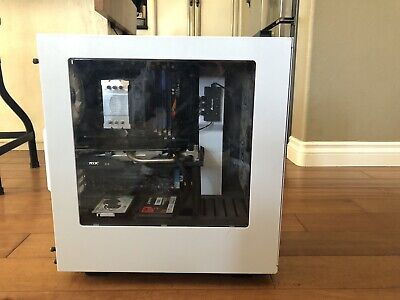 NZXT Rgb case,  Fortnite Pro Gaming pc (Great Condition) W/ New Keyboard/Mouse