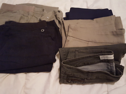 FIVE PAIR OF WOMENS TROUSES