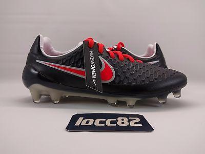 a226a4dba4ae2 Nike Women's Magista Opus FG Soccer Cleats Black Red Grey sz 5.5  (744948-061)