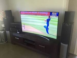 """Home Theatre System with Samsung 55"""" Curved Full HD LED 3D TV Callala Bay Shoalhaven Area Preview"""