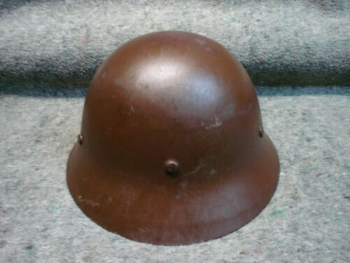 WWII Japanese Civil Defense Helmet, not Type 97, 99 Kiska