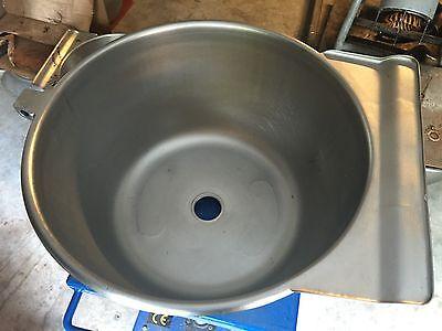 Hobart Stephan Vcm 40 Qt Stainless Steel Vertical Cutter Mixer Bowl
