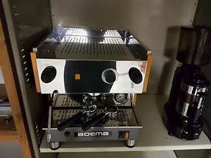 COFFEE MACHINE COMMERCIAL GRADE BOEMA + COMMERCIAL GRINDER Liverpool Liverpool Area Preview