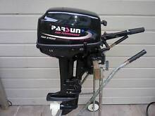 OUTBOARD MOTOR PARSUN 9.8HP TWIN CYLINDER SHORT SHAFT Phegans Bay Gosford Area Preview