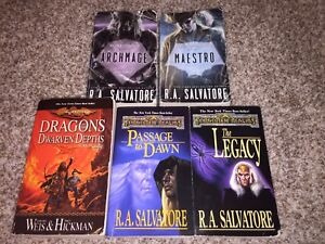 Selling 5 Dungeons and Dragons Novels!
