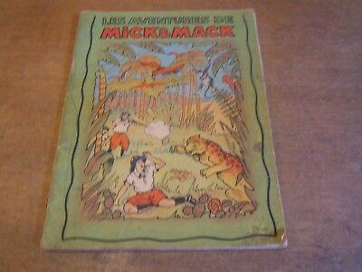 """livre ancienne bande dessinée """" LES AVENTURES DE MICK & MACK   de JEAN GOSSE"""