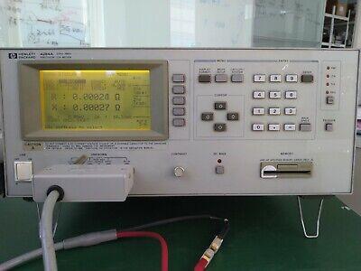 Agilent Hp 4284a Precision Lcr Meter 20hz - 1mhz Opt. 001 002 006