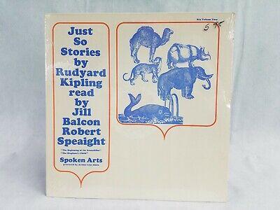 Just So Stories by Rudyard Kipling Jill Balcon Robert Speaight Vol 2 Sealed