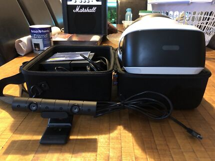 PlayStation VR head unit including camera and Resident Evil game!!