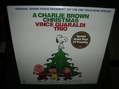 A CHARLIE BROWN CHRISTMAS **Vince Guaraldi Trio **NEW GREEN LP VINYL RECORD