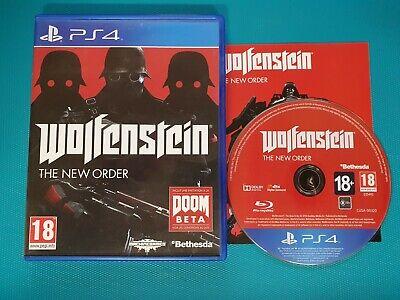 PS4 : Wolfenstein The New Order