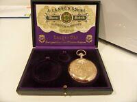 A. Lange & Söhne Savonette-Taschenuhr, 750er Gold/18K, um 1905 Rheinland-Pfalz - Bad Bertrich Vorschau