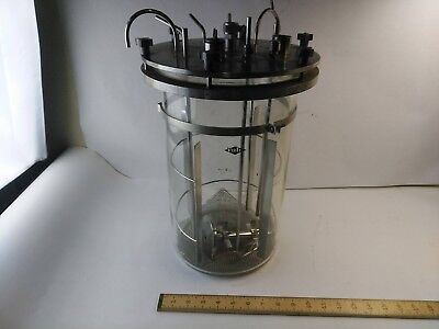 Large Virtis Glass Freeze Dryer Flask Lyphilizer Flat Bottom With Parts