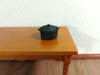 Dollhouse Miniature Copper Dutch Oven w//Hammer Dome Lid  Artisan Handcrafted