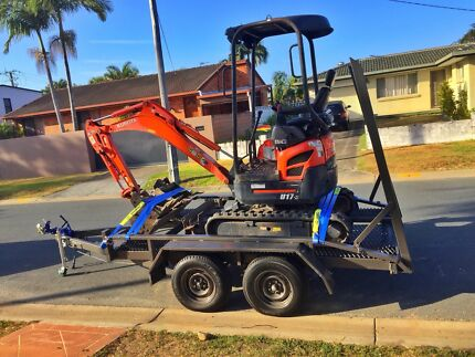 Excavator Hire d.i.y $160p/d $300wknd Broadbeach Waters Gold Coast City Preview