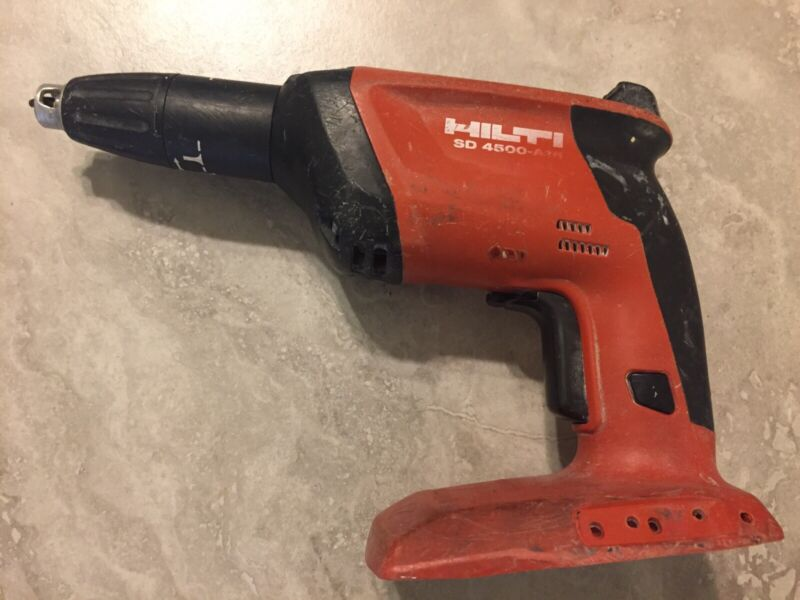 HILTI SD 4500-A18 18V 21.6V CORDLESS SCREWDRIVER Works Perfectly