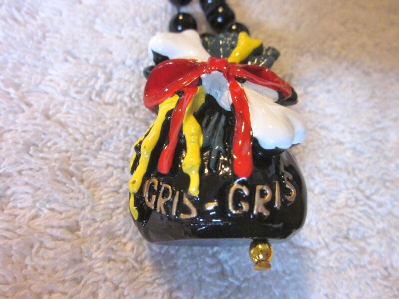 "/""TROPICAL TIKI MAN/"" MARDI GRAS NECKLACE BEAD SURVIVOR IDOL FLOWERS B573"