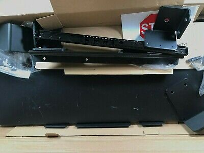 Defy Desk Clamp Keyboard Tray Black Extra Large Surface 26