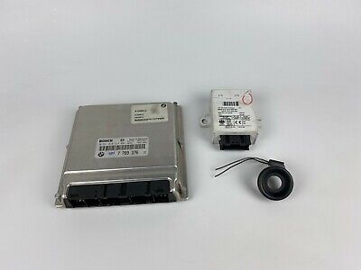 BMW 3 Series e46 3.0D M57 Engine Computer Ignition Module ECU SET 7789376