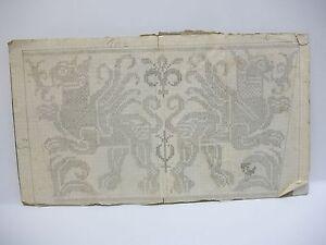 Henri-BROCHET-dessin-orig-crayon-griffon-pour-broderie-aux-points-circa-1920