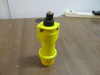 Thomas Betts Russellstoll Plug 9p34u2 30a 250v Used