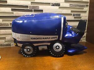 Toronto Maple Leafs PLUSH ZAMBONI SOUVENIER NHL TEAM TOY