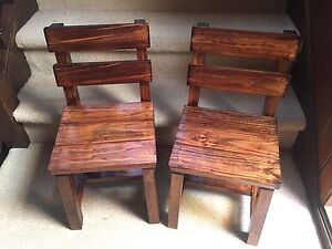 2x Brand New Solid Timber Kids Chairs Bardwell Park Rockdale Area Preview