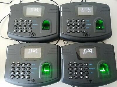 Flexclock Z33 Rounded Model Biometric Timeclock Free Shipping