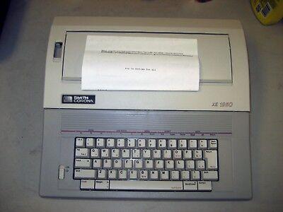 Refurbished Smith Corona Xe-1950 Typewriterword Processor Case Wwarranty