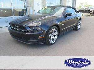2013 Ford Mustang GT 5L V8, AUTO, LEATHER, NO ACCIDENTS, WINT...