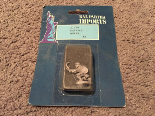 Sealed Ral Partha Imports Caravan Guard Metal Figures FS-79