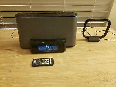 SONY Dream Machine ICF-CS10iP  iPod Dock & AM/FM Clock Radio with remote
