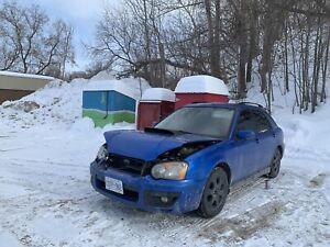 2004 Subaru Impreza WRX hatch