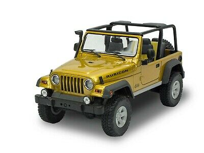 Jeep Wrangler Rubicon # Modellbausatz 92 Teile # Revell (US) 14501