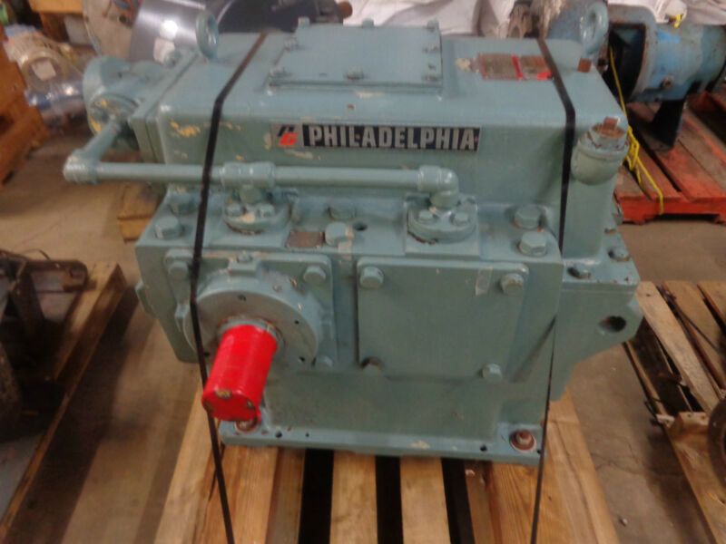 Philadelphia 1244 HP  Model 10 HS Gear Reducer
